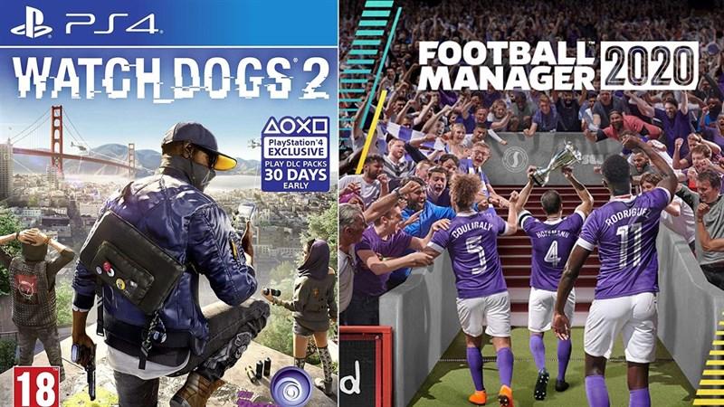 Nhận ngay hai tựa game Watch Dogs 2 và Football Manager đang miễn phí