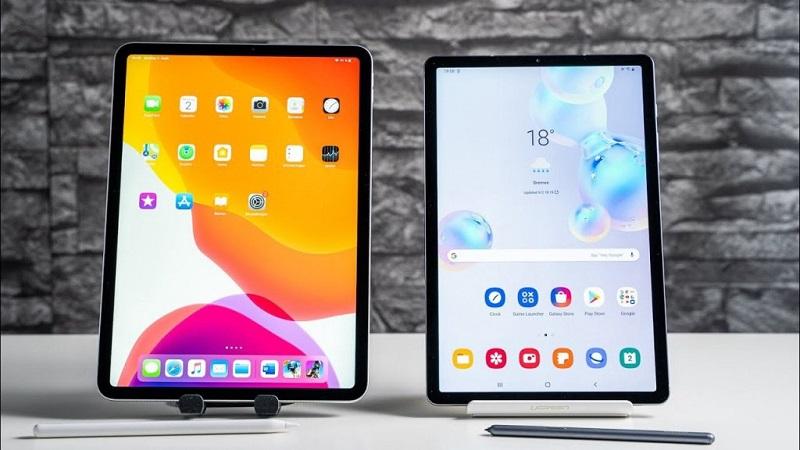 Samsung Galaxy Tab S7 và iPad Pro