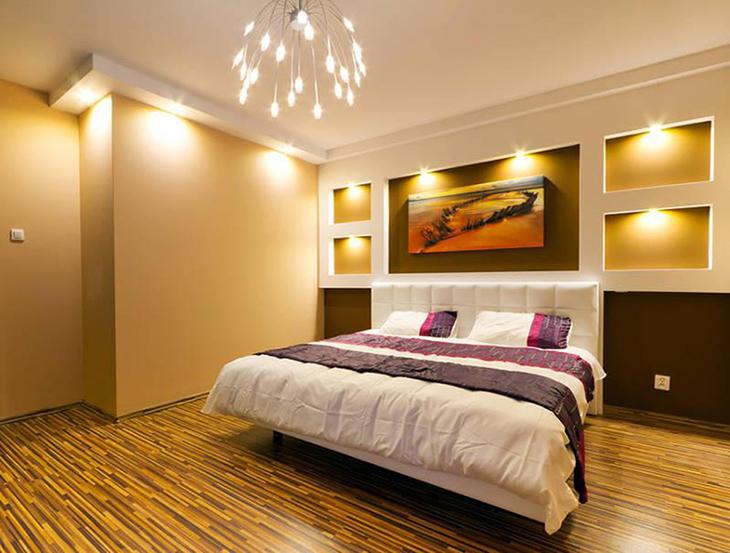Nhiệt độ màu đèn LED phù hợp với không gian phòng ngủ