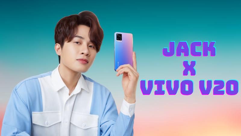 Jack chính thức trở thành đại sứ cho sản phẩm Vivo V20 tại Việt Nam