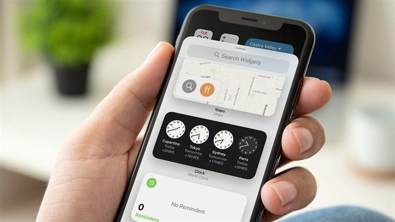 Thêm màu sắc cho Widget mặc định để iPhone bạn 'tươi không cần tưới'