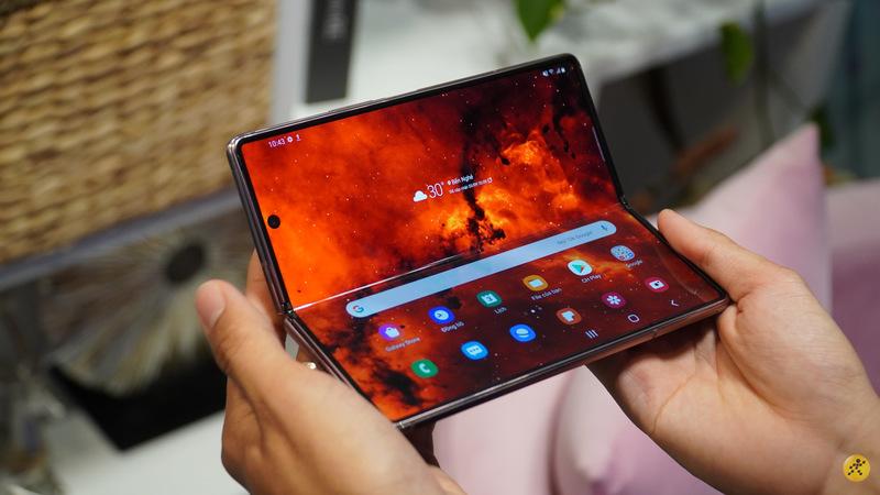 Thế Giới Di Động đang có ưu đãi trả góp 0% khi mua Samsung Z Fold 2