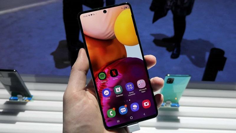 Ảnh minh họa điện thoại Samsung