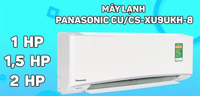 Review máy lạnh Panasonic CU/CS XU UKH-8 kháng khuẩn, khử mùi