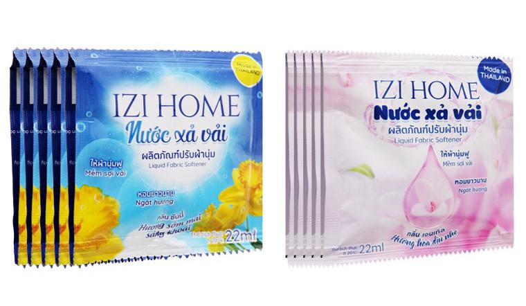 Nước xả vải IZI HOME có thơm không? Có các hương thơm nào?