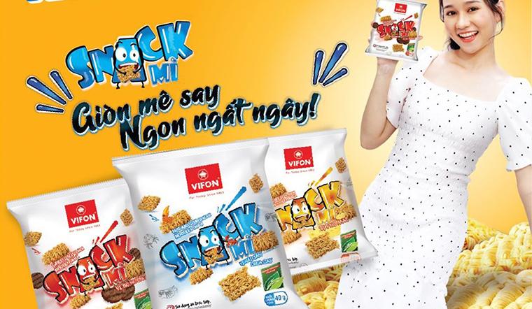 Snack mì không chỉ có Enaak mà còn có snack mì Vifon