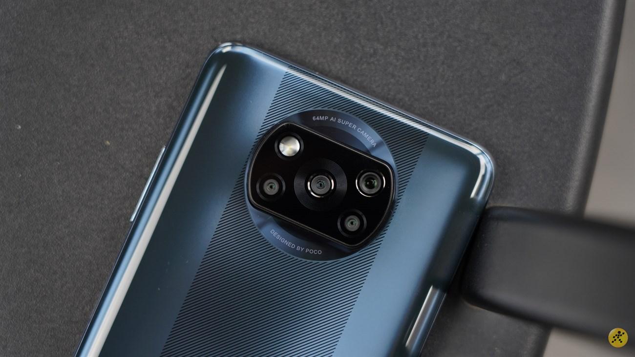 Thiết kế camera sau của POCO X3 NFC