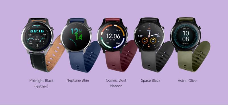 Các phiên bản màu sắc của Xiaomi Mi Watch Revolve