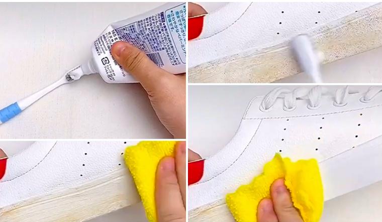 Mách bạn 3 cách làm sạch giày thể thao, giày vải, giày nhung cực sạch như mới mua