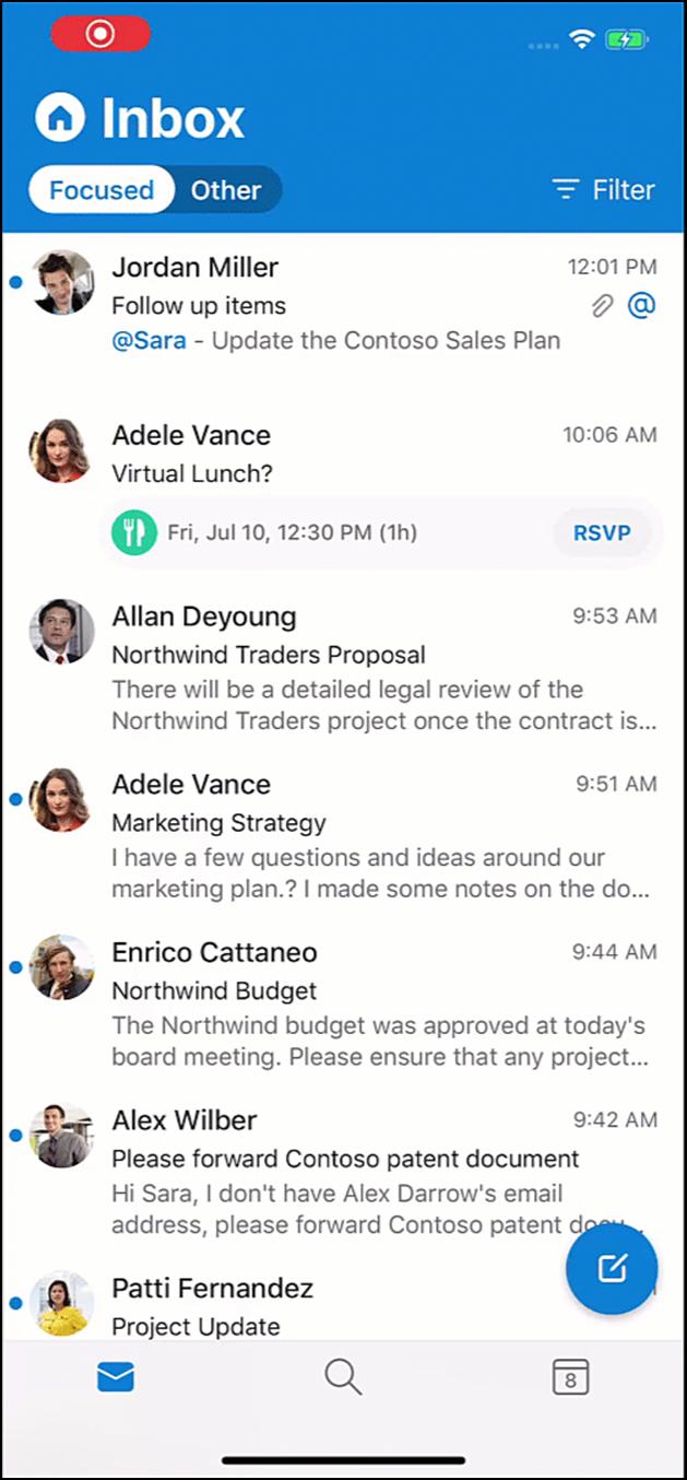 Dễ dàng thêm công việc cần làm vào To Do từ Outlook mobile