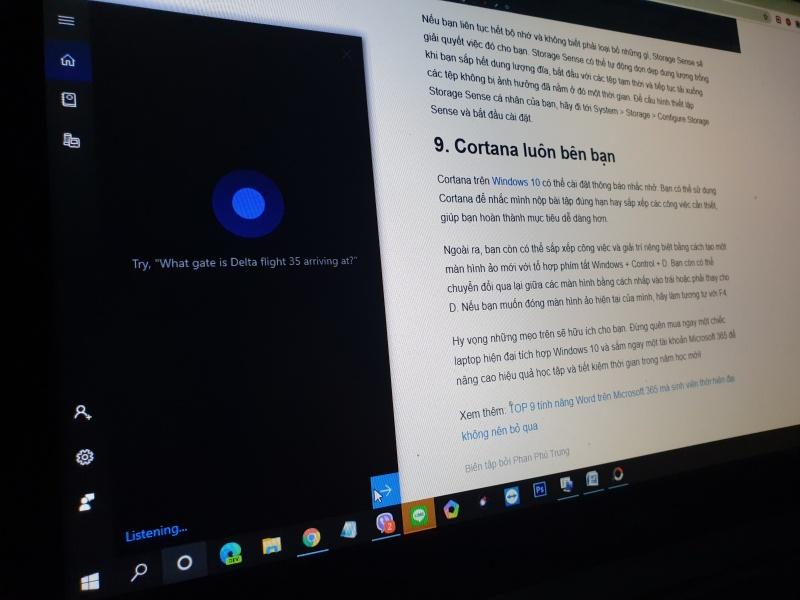 Cortana luôn bên bạn