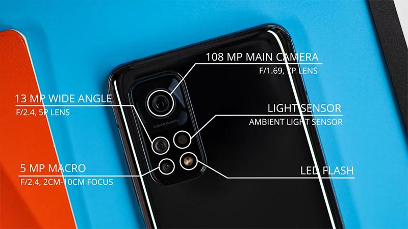 Thông số camera trên Xiaomi Mi 10T Pro