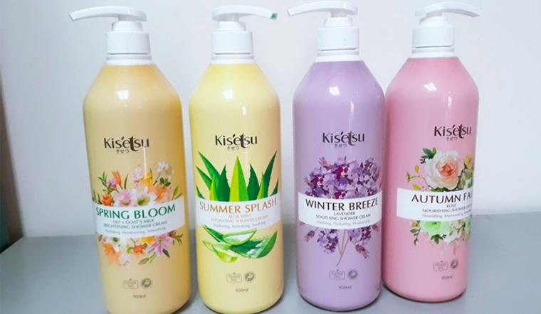 Sữa tắm Kisetsu có tốt không? Review các loại sữa tắm Kisetsu