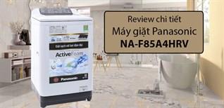 Máy giặt Panasonic NA-F85A4HRV - lựa chọn hoàn hảo cho người lớn tuổi