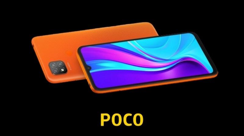 Smartphone giá rẻ POCO C3 với pin 5.000 mAh vừa được xác nhận đi kèm với cụm 3 camera hình vuông ở mặt sau