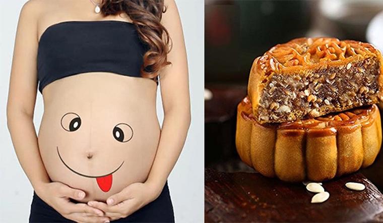 Bà bầu có nên ăn bánh trung thu không?