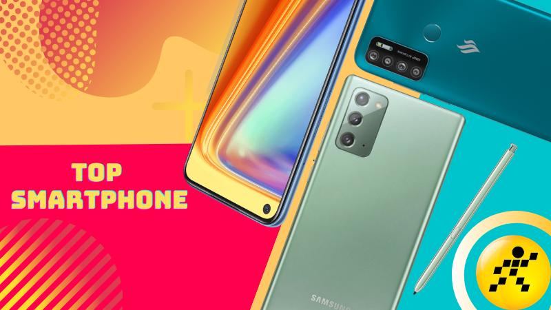 Những smartphone mới bán có số lượng đặt khủng trong tháng 9/2020 tại Thế Giới Di Động