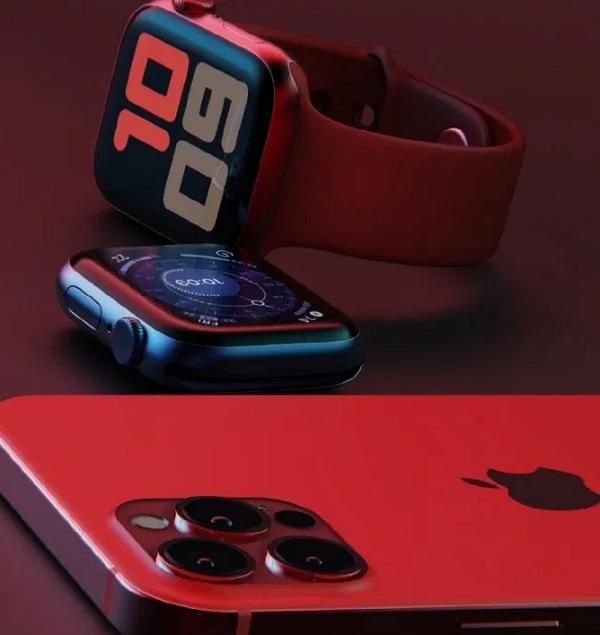 Ảnh minh họa iPhone 12 màu đỏ