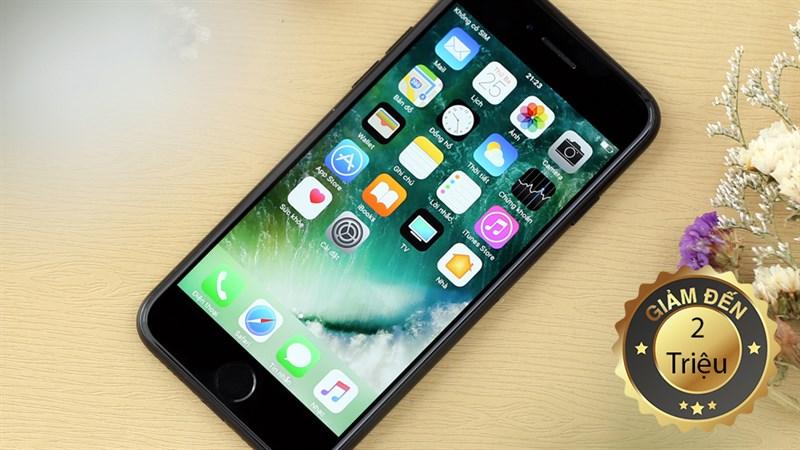 Giảm giá khủng khi mua iPhone 7 bản 32GB và 128GB tại Thế Giới Di Động