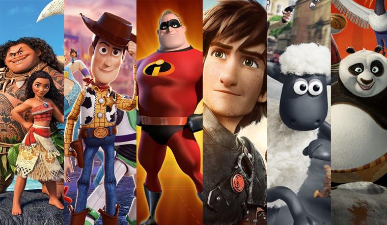 10 phim hoạt hình 3D thú vị nhất dành cho trẻ em