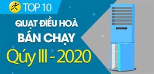 Top 10 quạt điều hòa bán chạy nhất qúy III - 2020 tại Điện máy XANH