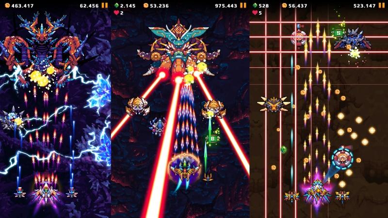 Hình ảnh trong game Galaxy Shooter : Falcon Squad Premium