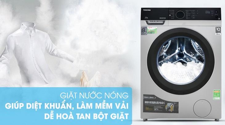 Công nghệ giặt nước nóng