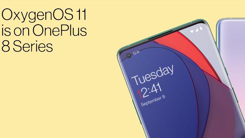 OnePlus 8 và OnePlus 8 Pro nhận được bản cập nhật OxygenOS 11 ổn định dựa trên Android 11