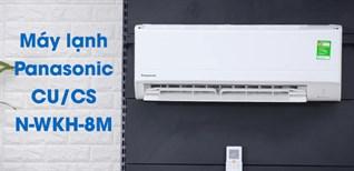 Lý do nên chọn mua dòng máy lạnh Panasonic N-WKH-8M