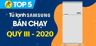 Top 5 Tủ lạnh Samsung bán chạy nhất quý III - 2020 tại Điện máy XANH