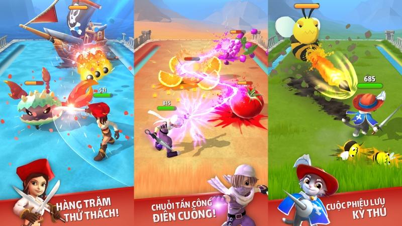Hình ảnh trong game Dashero: Sword & Magic
