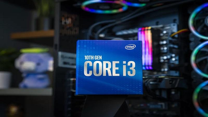 Core i3-10100F mới của Intel