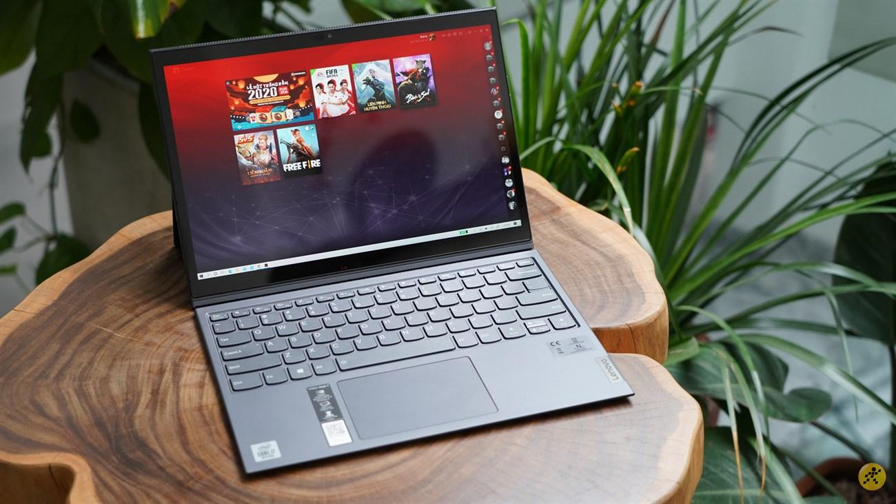 Lenovo Yoga Duet  7 mang đến màn hình sinh động