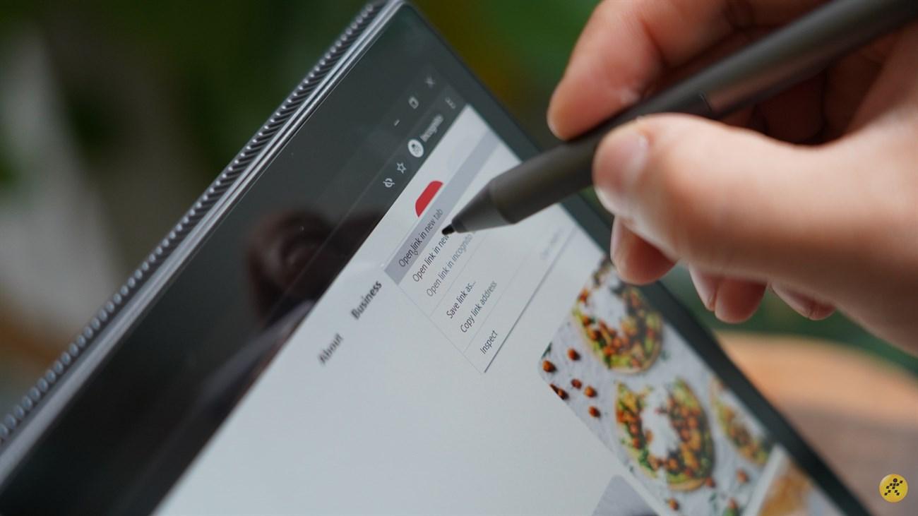 Bạn có thể sử dụng bút để đa nhiệm dễ dàng hơn