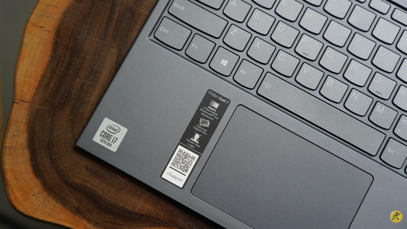 Cấu hình phần cứng của Lenovo Yoga Duet 7
