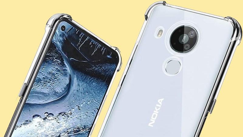 Rò rỉ hình ảnh Nokia 7.3 5G được gắn trong ốp lưng, tiết lộ tổng quan thiết kế mặt trước và sau của điện thoại