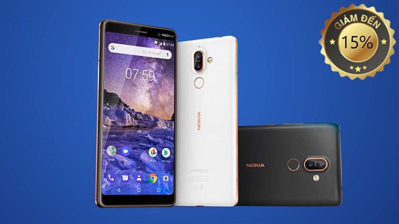 Điện thoại Nokia cũ giảm đến 15% chỉ từ 198k