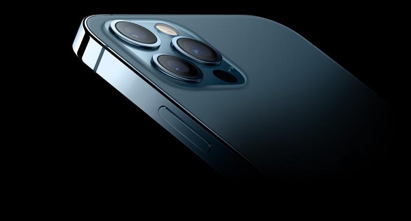 Cụm 3 camera cùng với cảm biến Lidar của iPhone 12 Pro