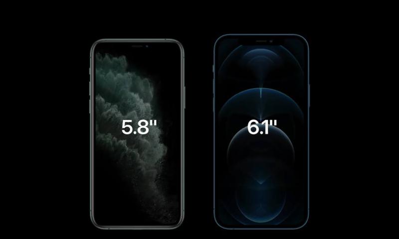 Ấn tượng đầu tiên về iPhone 12 Pro 4 kích thước