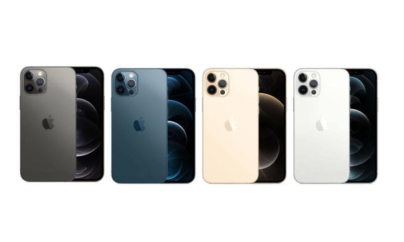 Thiết kế mới của iPhone 12 Pro cùng với các màu sắc mới
