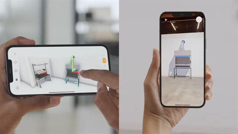 Những công ty nội thất sẽ là người đầu tiên ứng dụng hiệu quả tính năng của LiDAR