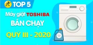 Top 5 Máy giặt Toshiba bán chạy nhất quý III - 2020 tại Điện máy XANH