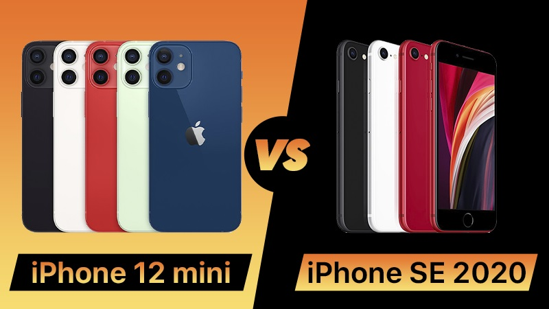 iPhone SE (2020) vs iPhone 12 Mini