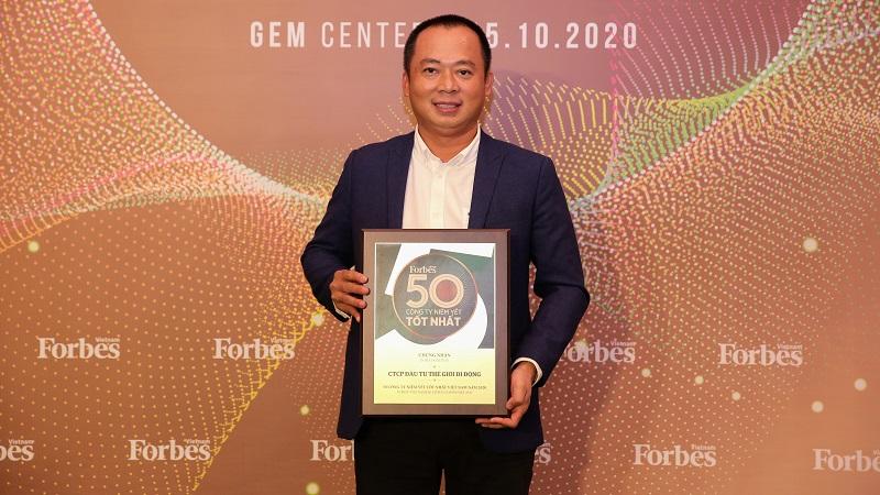 Forbes bình chọn: Thế Giới Di Động số 1 lĩnh vực bán lẻ 2020