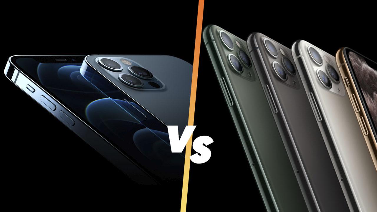 Thiết kế của iPhone 12 Pro Max vs 11 Pro Max