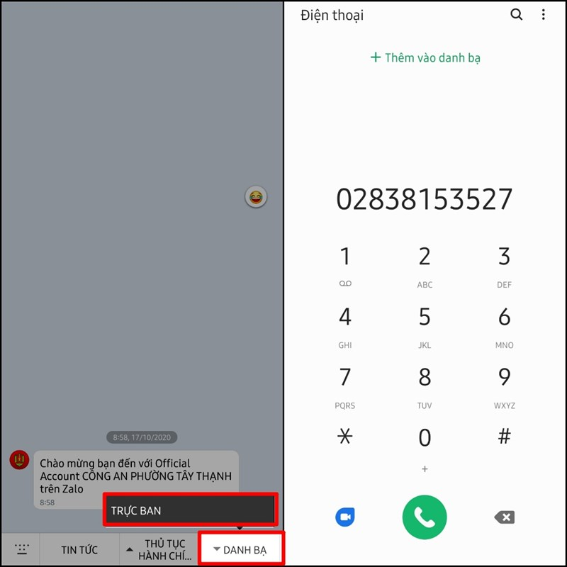 Tra cứu số điện thoại công an khu vực trong những trường hợp khẩn cấp