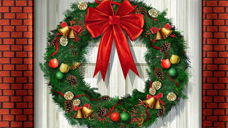 5 cách làm vòng nguyệt quế Noel đơn giản để trang trí cực đẹp