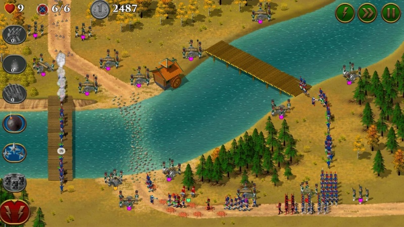 Hình ảnh trong 1812 Napoleon Wars Premium TD Tower Defense game