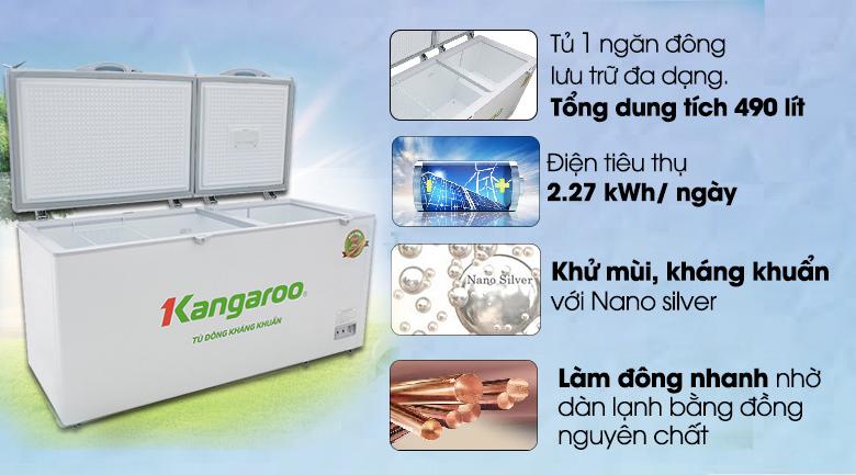 Tủ lạnh 1 ngăn đông
