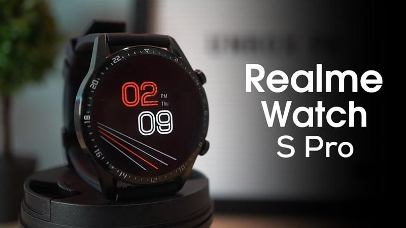 Thay màn hình, Cảm ứng, Kính: Realme Watch S Pro